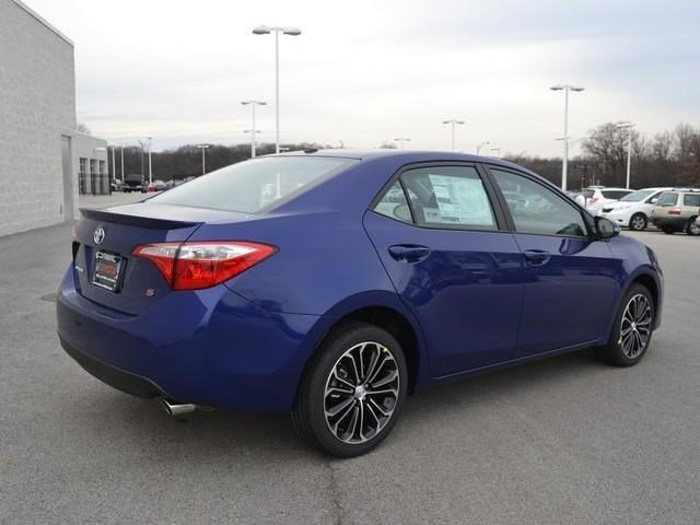 2014 Toyota Corolla s Plus Blue 2014 Toyota Corolla s Plus