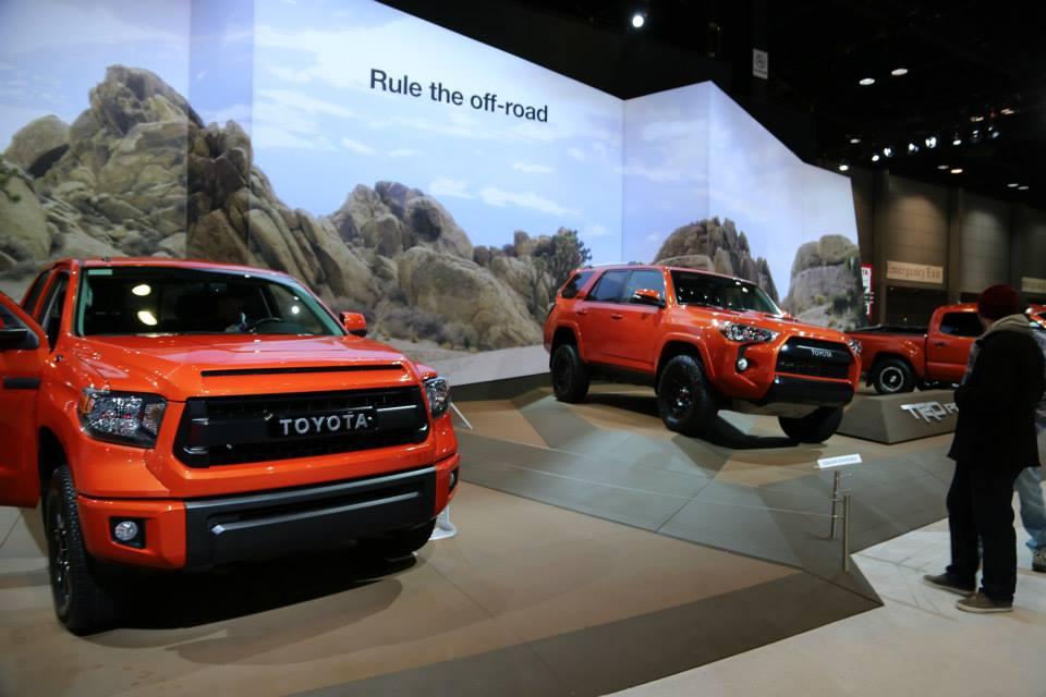 Chicago Auto Show Toyota Car Contest