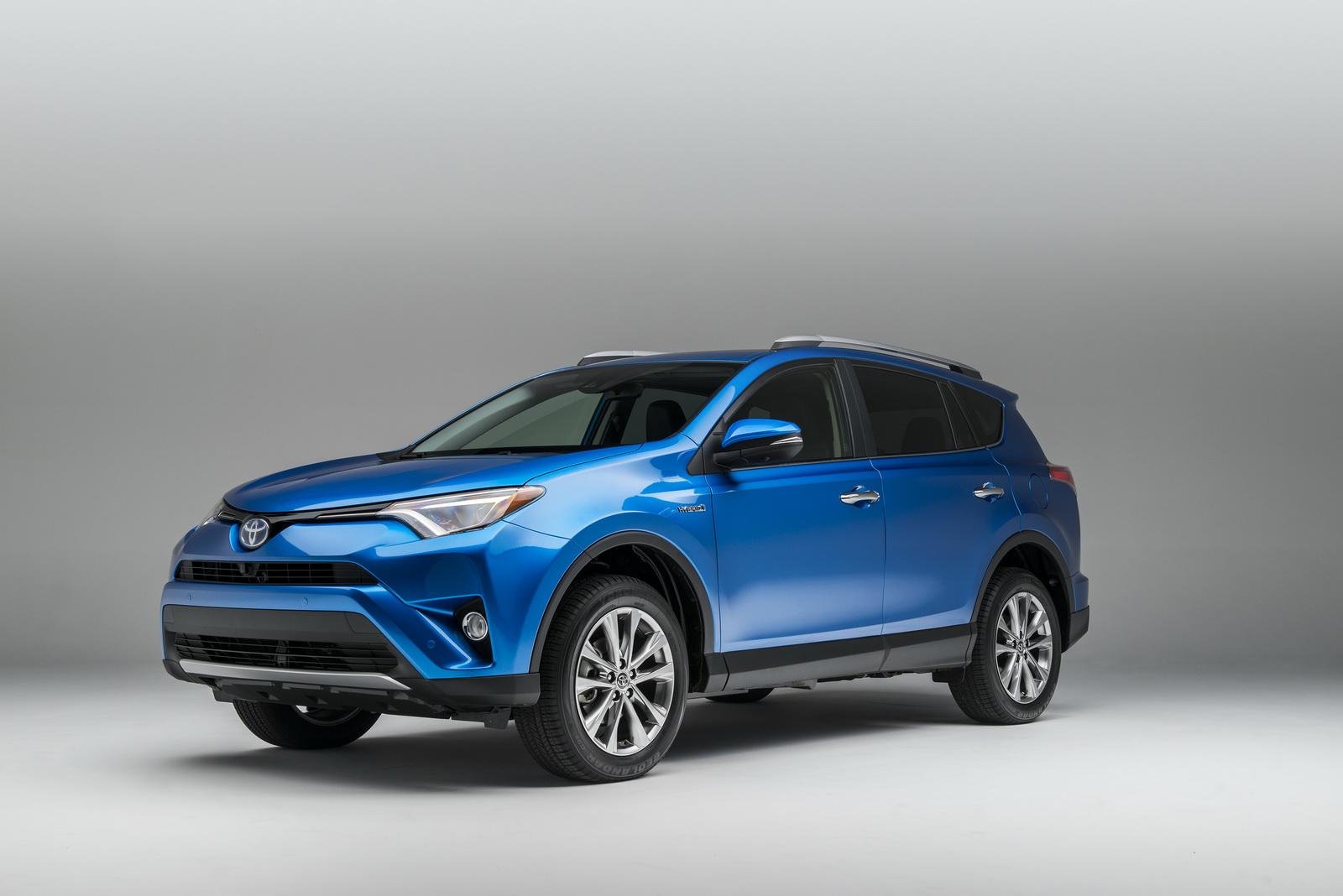 2016 Toyota Rav4 Hybrid 4