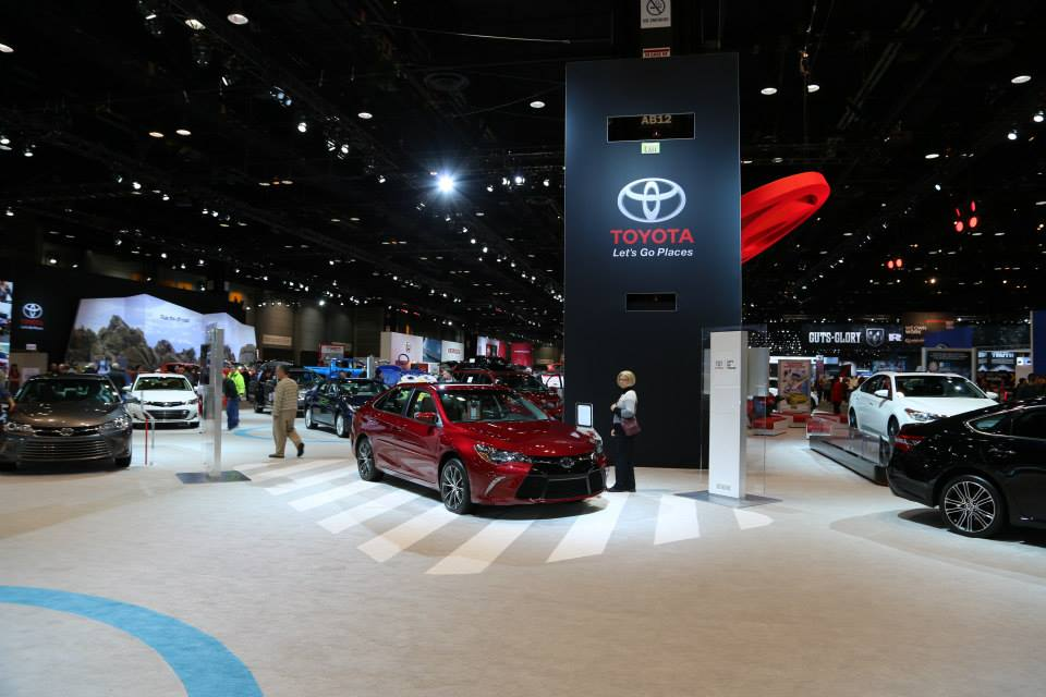 catch toyota at the 2016 chicago auto show things to do in chicago. Black Bedroom Furniture Sets. Home Design Ideas